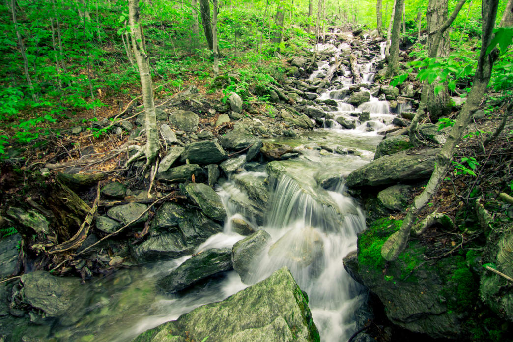 Smugglers' Notch State Park offers a stunning natural setting just outside Stowe.