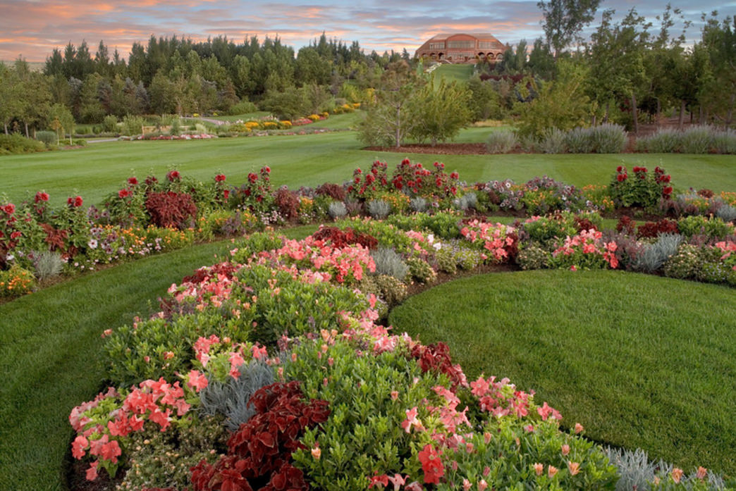 The gardens at Thanksgiving Point are just some of what's available to explore on this impressive property.