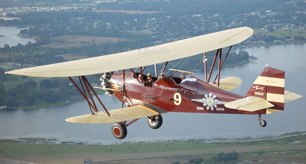 Historically designed biplanes offer a once-in-a-lifetime ride.