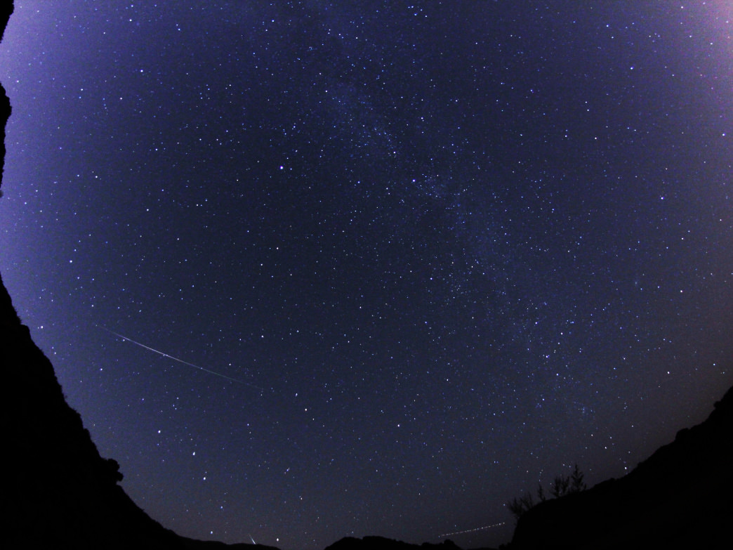 Perseid Meteor Shower shot from Azusa Canyon near Los Angeles Create new entry and link Add some existing entries.