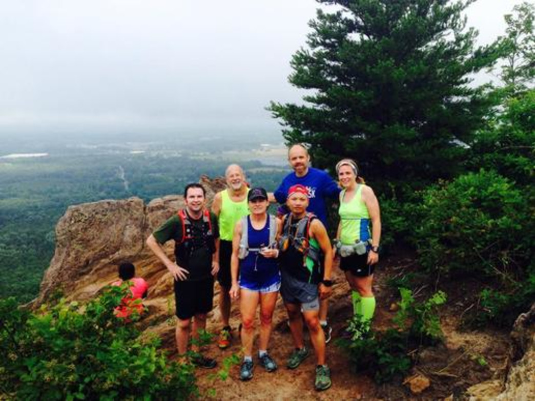 Group runs make even the toughest trails around Charlotte easier.