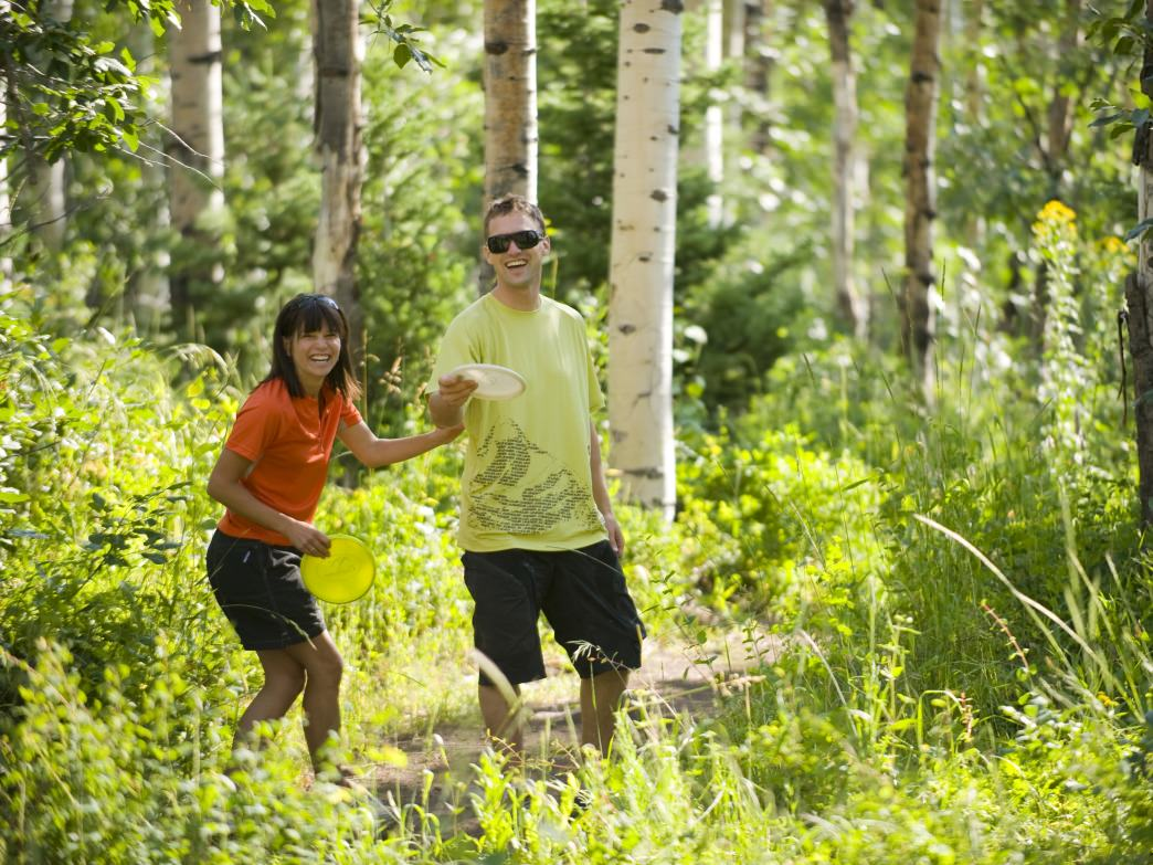 A summer day in The Canyons' aspen groves? Yes, please.