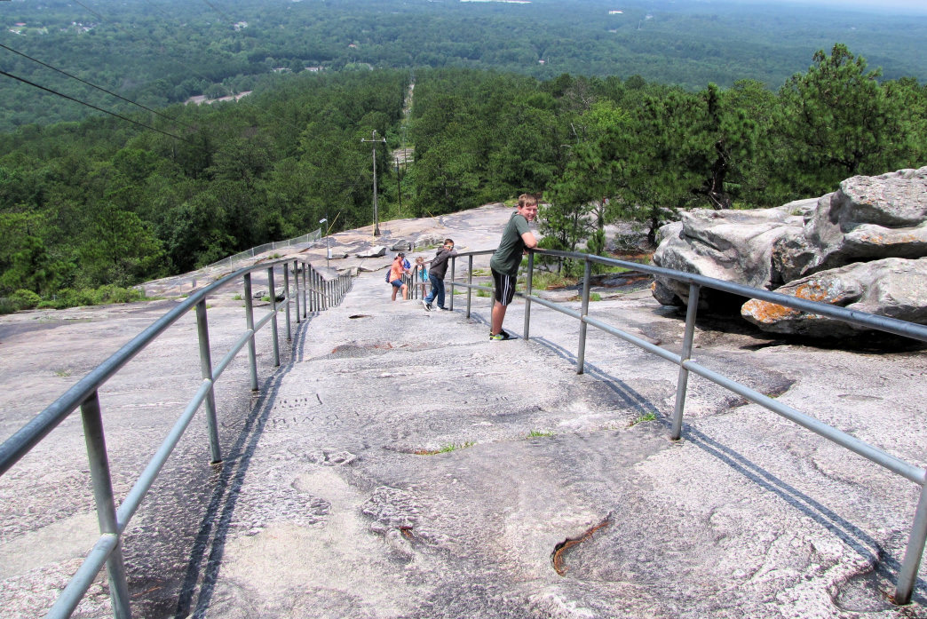 Enjoy the views from the top of Stone Mountain.