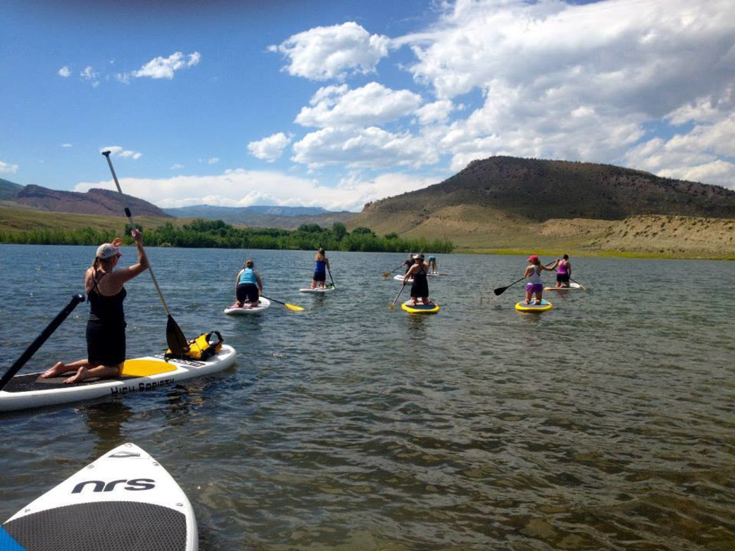 Learn the basics of SUP at the Paddle Like a Girl Program.
