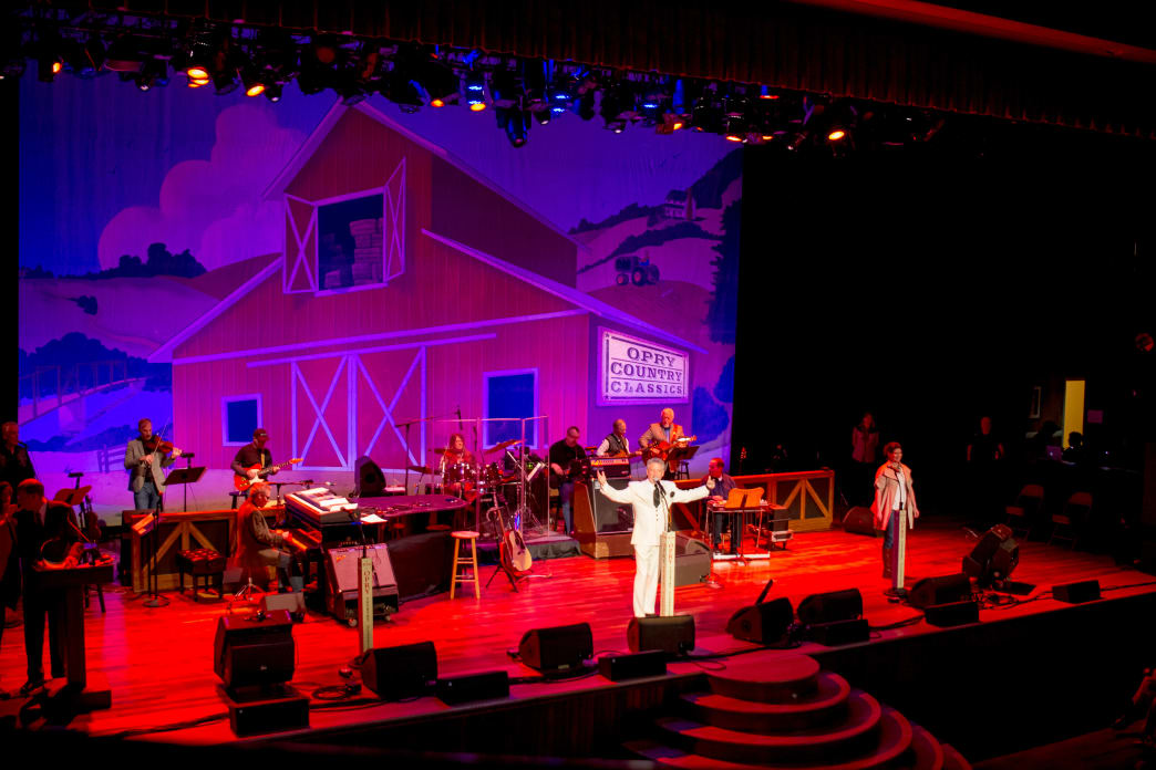 A must-see on every visitor's list—the Grand Ole Opry.