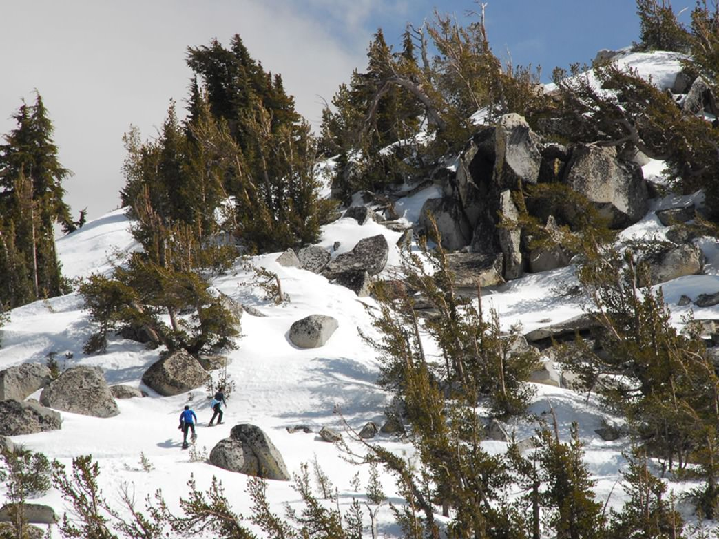 Glalena Creek Park Snowshoeing offers some of the most iconic sights in the Sierra