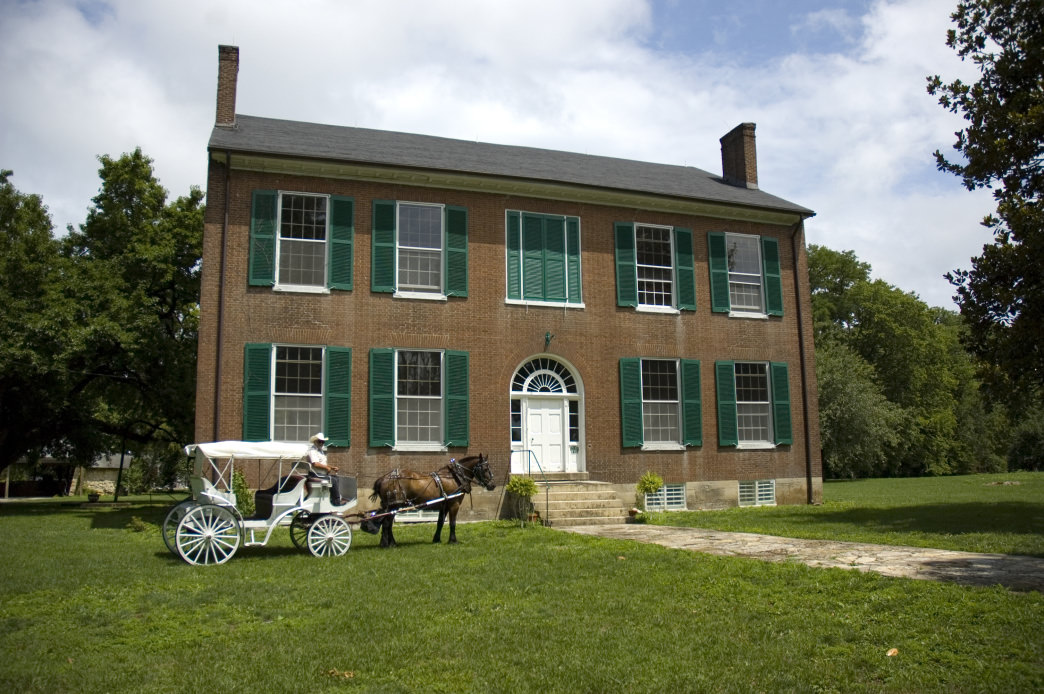 The historic Wickland mansion is also known as the Home of Three Governors.