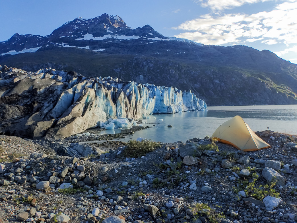 View from Lamplugh Glacier.