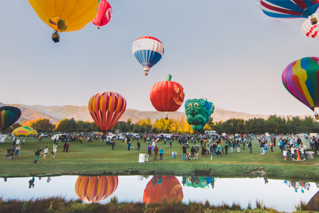Look to the skies of Park City for the Autumn Aloft festival.
