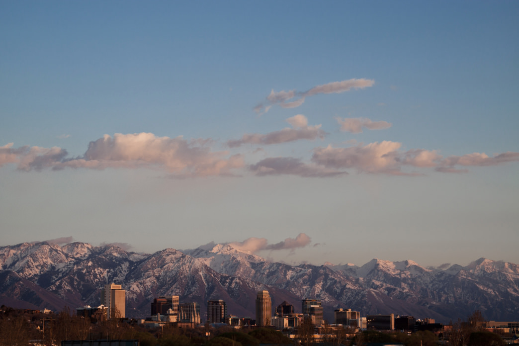 Salt Lake City is less than an hour away from most of the major ski resorts. Chris Pearson