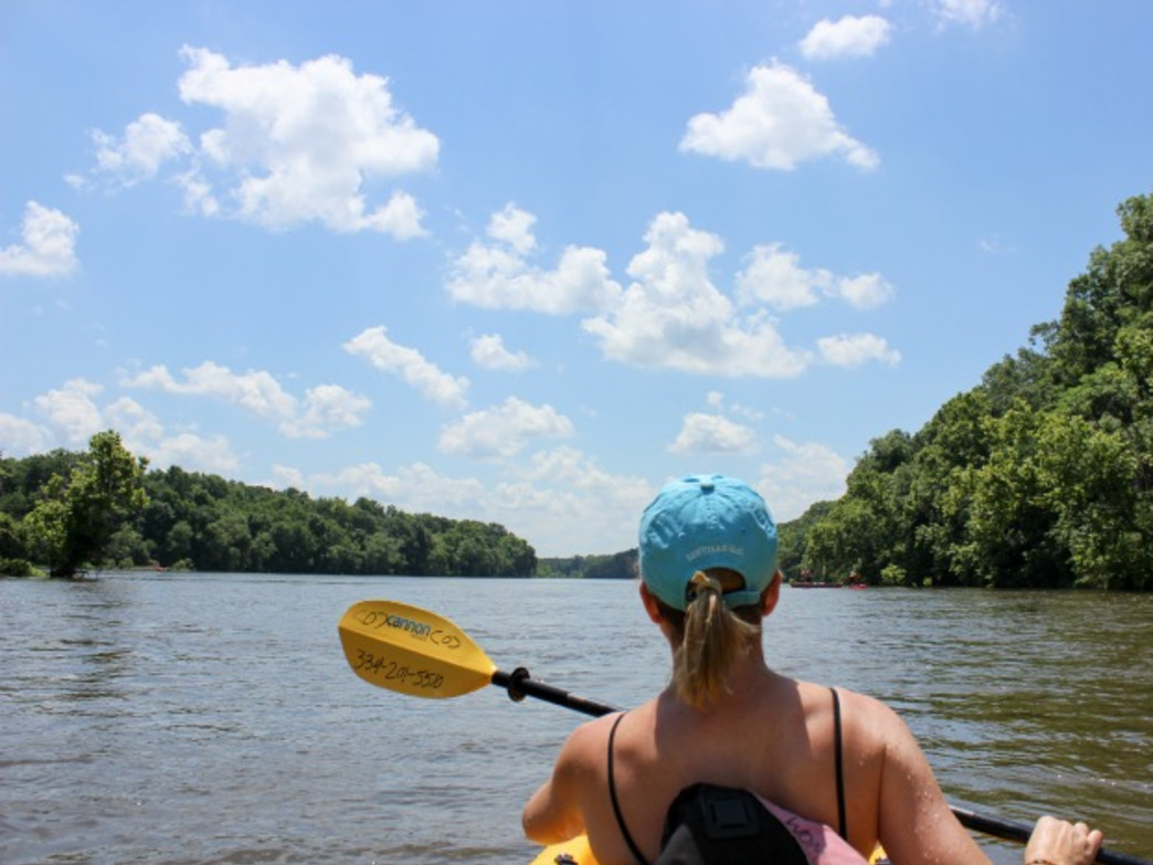While away a hot summer day on the Coosa River.