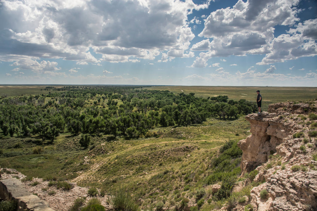 The Cimarron Grasslands are part of the thousands of trails to explore in Kansas.