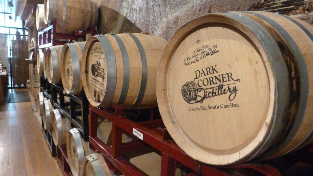The Dark Corner Distillery is an easy downtown stop to learn about the art of spirits crafting