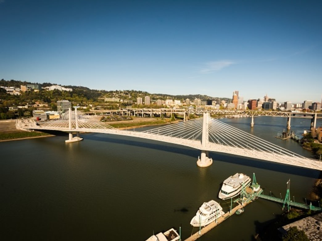 The Providence Bridge Pedal will provide cyclists with their first opportunity to cross the Tilikum Crossing, slated to open in September.