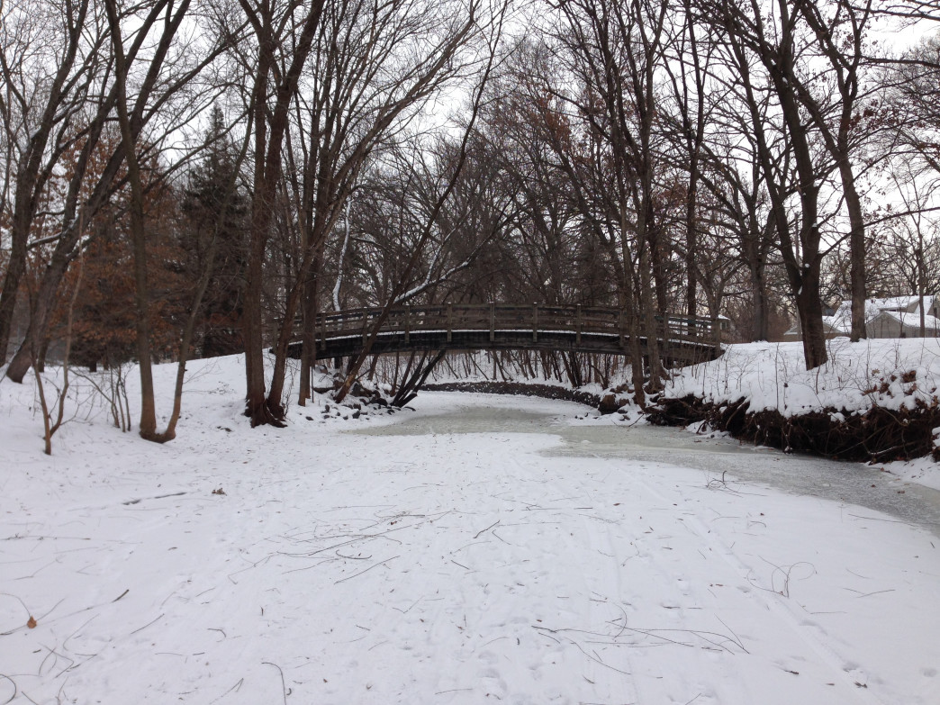 The Minnehaha Creek has become an excellent place to fat bike in the Twin Cities.