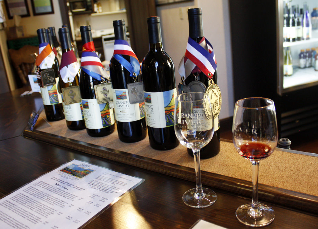 Stop in for some wine at one of the 23 wineries in the area.<br />     Shauna Farrell