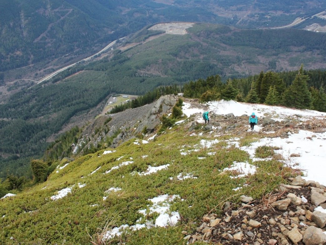 Views from Mailbox Peak.