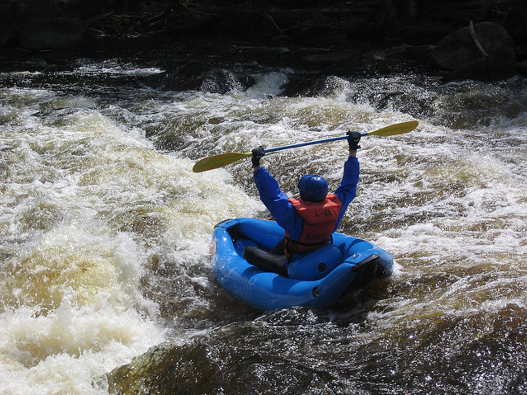 Hit the river for some whitewater action.