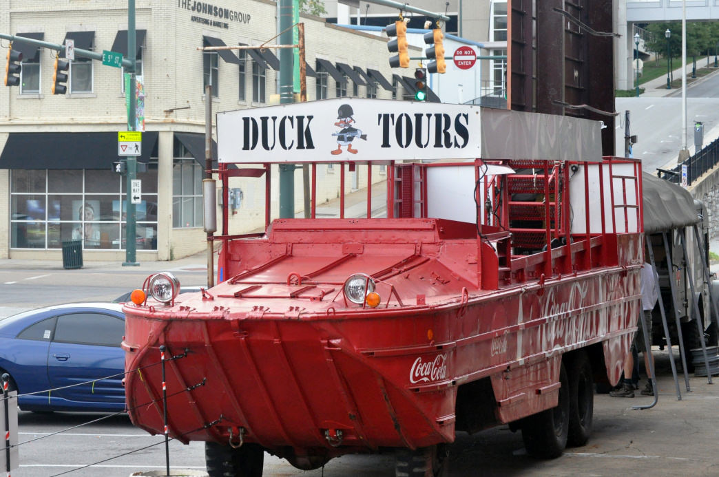 The Chattanooga Ducks are a great way for the whole family to explore the city from both land and water.