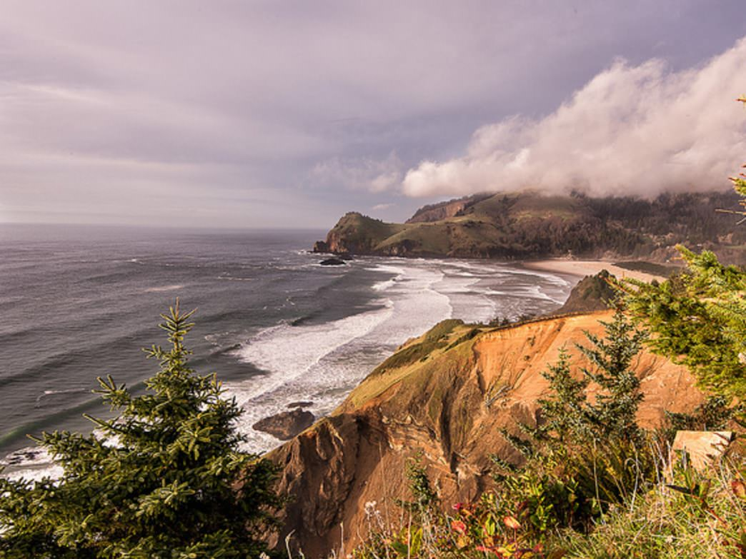 Cascade Head offers some of the best views on the Oregon Coast; it's also a popular whale-watching destination.