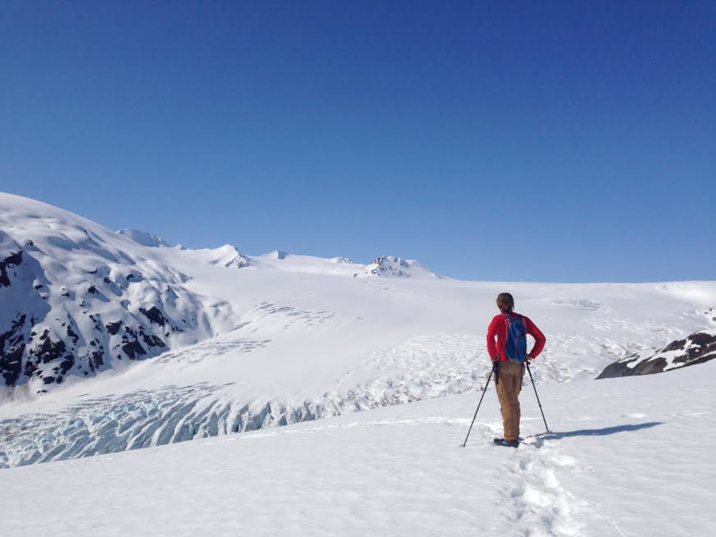 A strenuous hike from the valley floor to the Harding Icefield Overlook is worth the effort.
