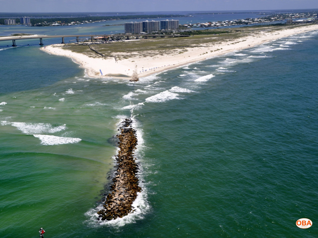 Rocky jetties at alabama point snorkeling for Fishing orange beach al
