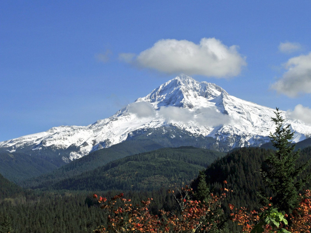 Burnt Lake is one of many hikes to offer impressive views of Mount Hood.