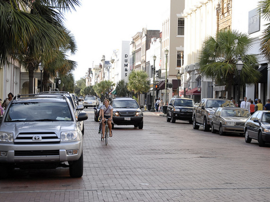 Charleston Moves is working to get more bike lanes installed around the city.
