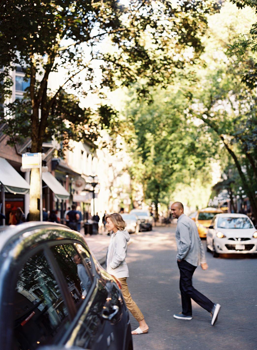 The historic Gastown District offers a beautiful setting for a photo shoot or just hanging out.