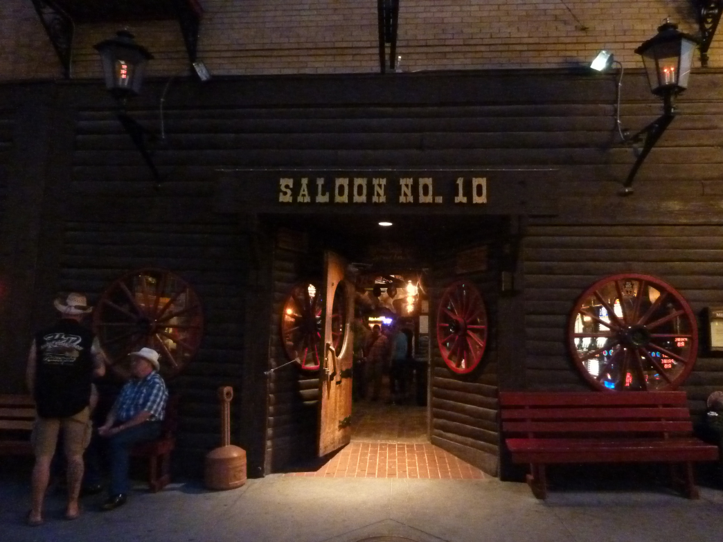 Complete with sawdust covered floor, the infamous Saloon No. 10 is quintessential Deadwood