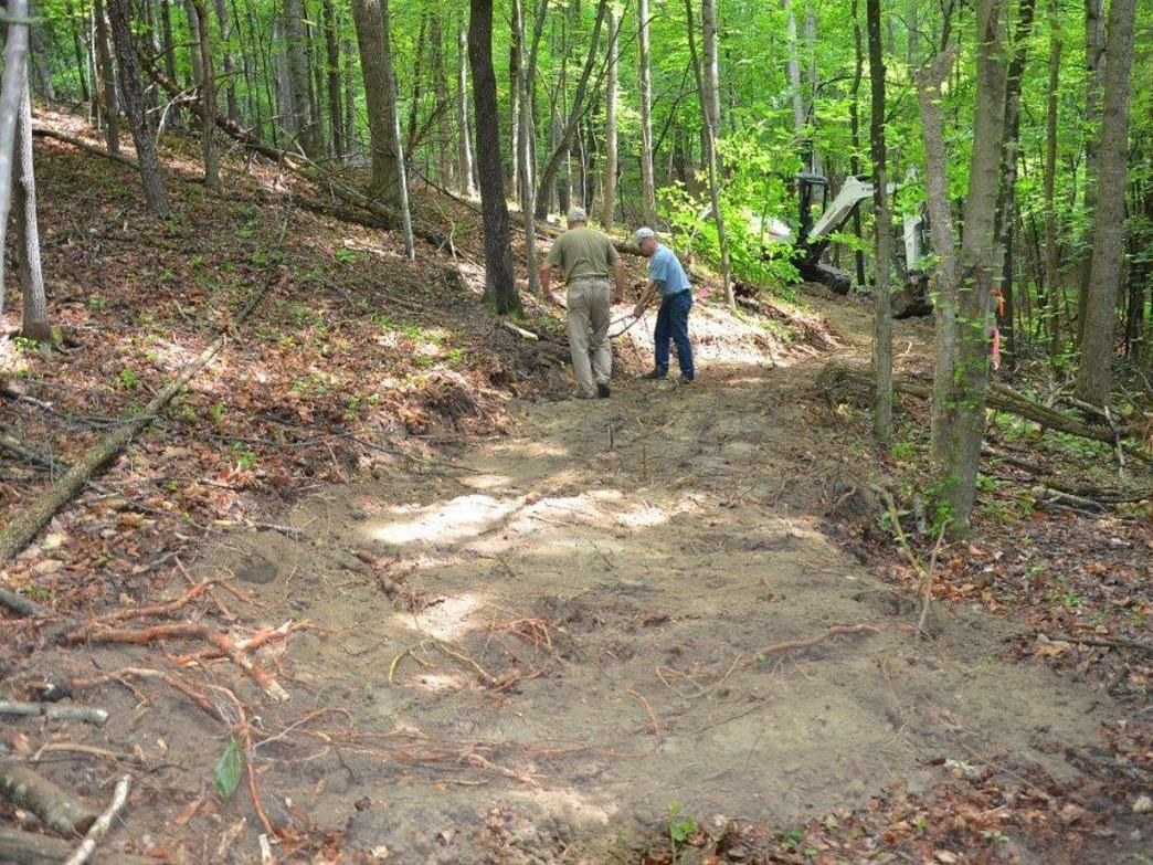 Not just for hiking, the EVTA is building a 6-mile singletrack trail for mountain bikers.