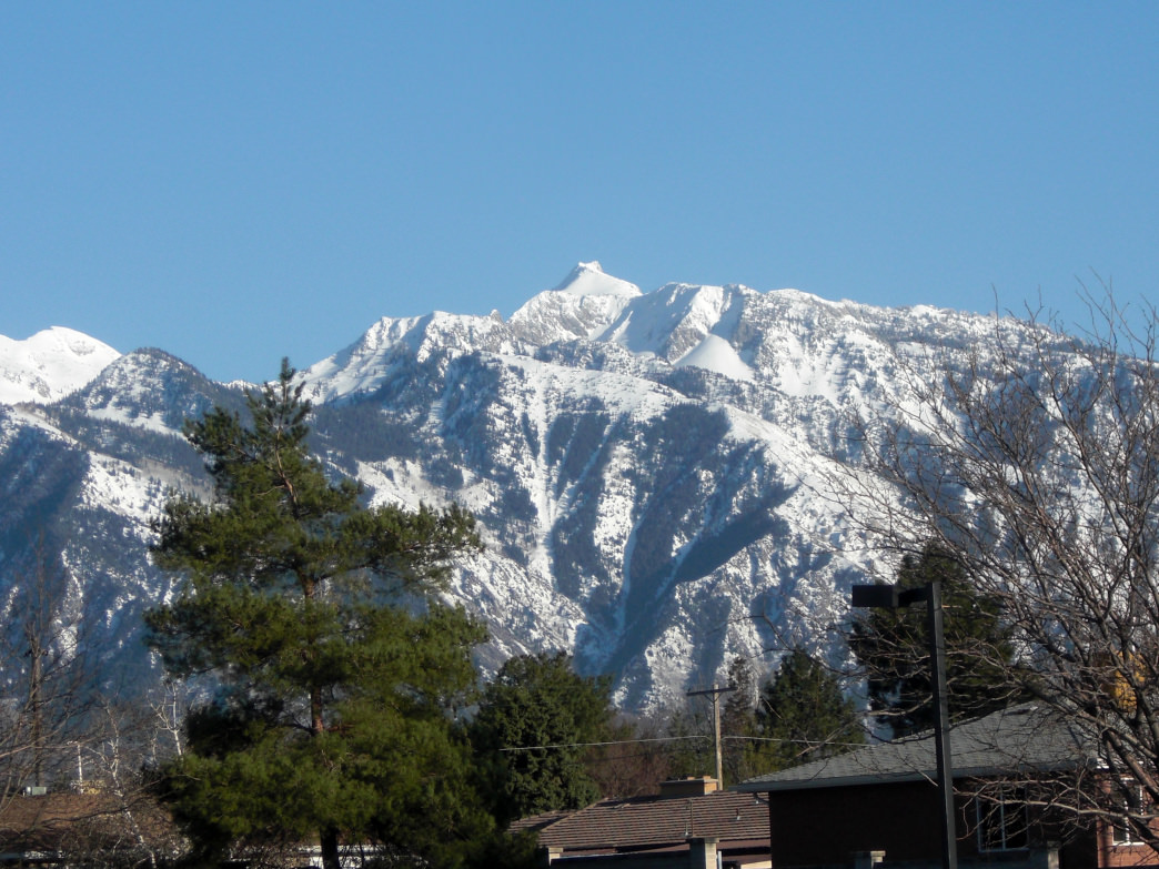 Lone Peak is popular among rock climbers, and it's considered one of the area's more challenging peaks for hikers.