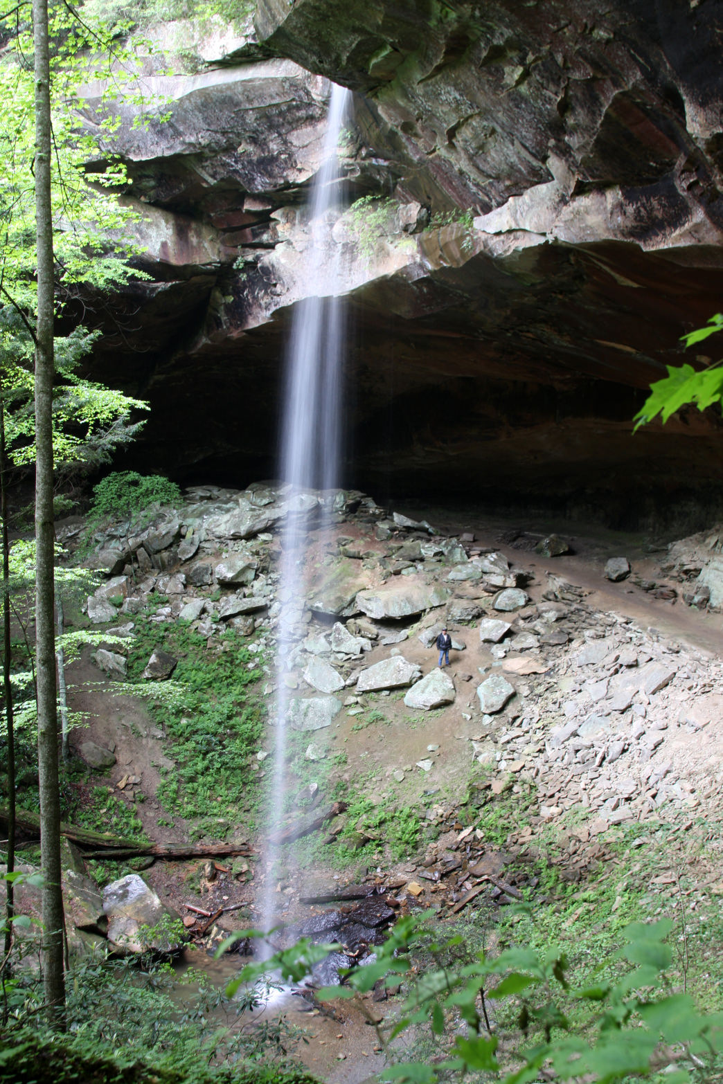 Yahoo Falls is the tallest waterfall in the state.