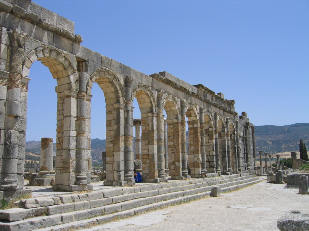 Meknes offers easy access to Volubilis, where you'll find the remains from Roman times.