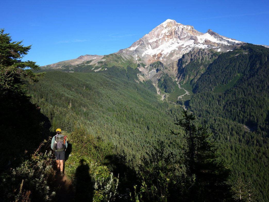 Circumnavigating Mt. Hood for 40 miles, the Timberline Trail is one of the best backpacking routes in the PNW.