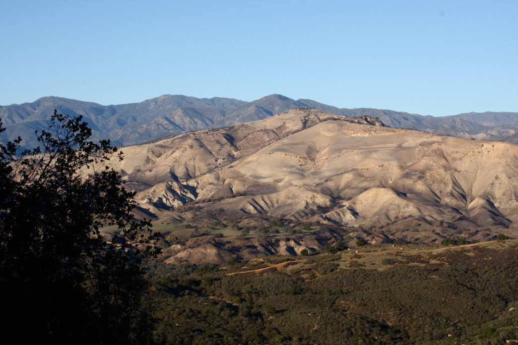 The view from Lookout Point on Highway 154 between Solvang and Santa Barbara.     Karen Bakar