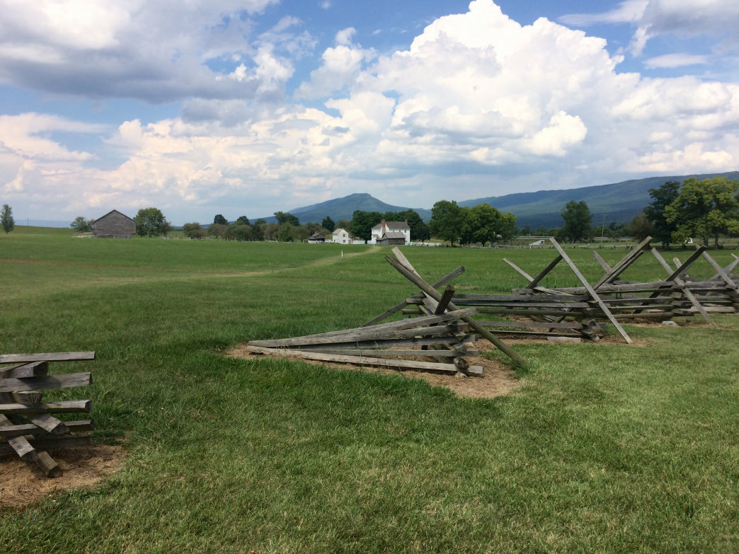 Explore a Civil War battlefield at the Virginia Museum of the Civil War.