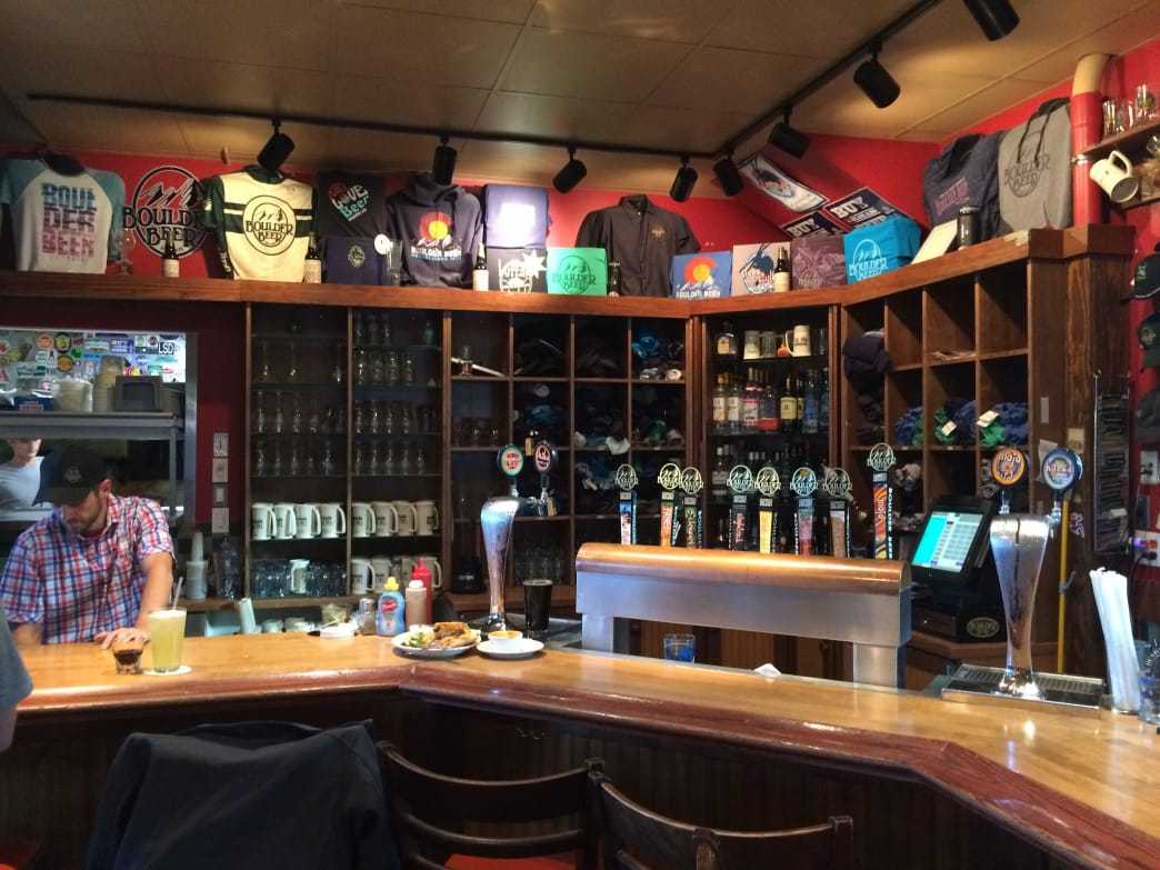 A Boulder icon, Boulder Beer sells beer, food, and souvenirs.