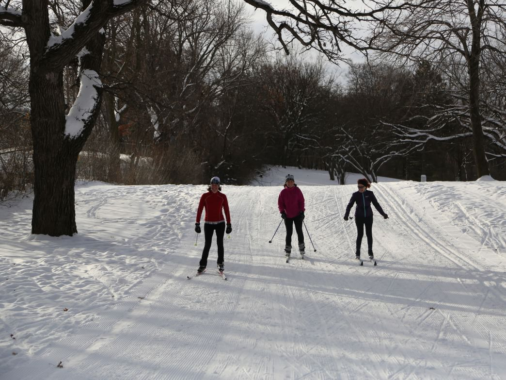 You can enjoy Theodore Wirth Park both before and after the snow arrives.