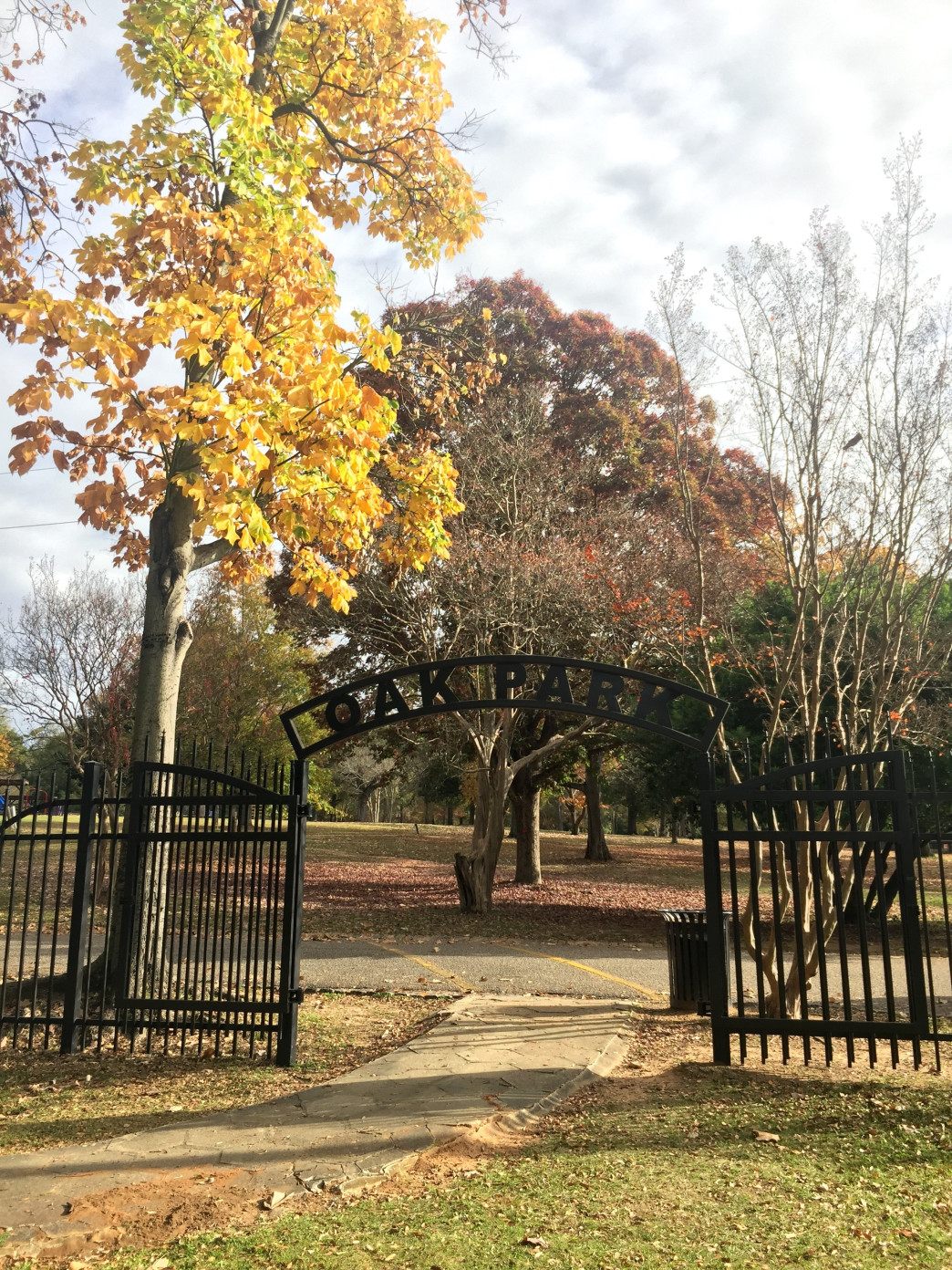 Historic Oak Park The Oldest In Montgomery