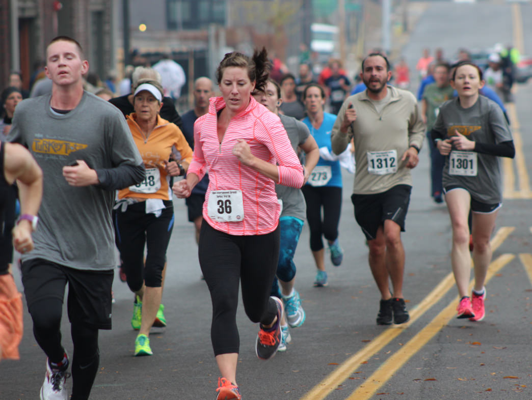 Get your hearts racing along with your feet in a competitive running event.