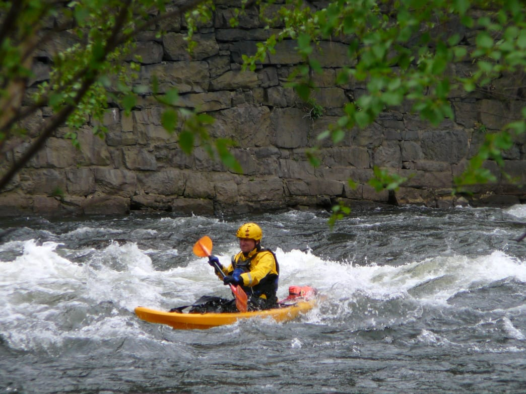 Make for the Lehigh River for a thrilling paddle session.