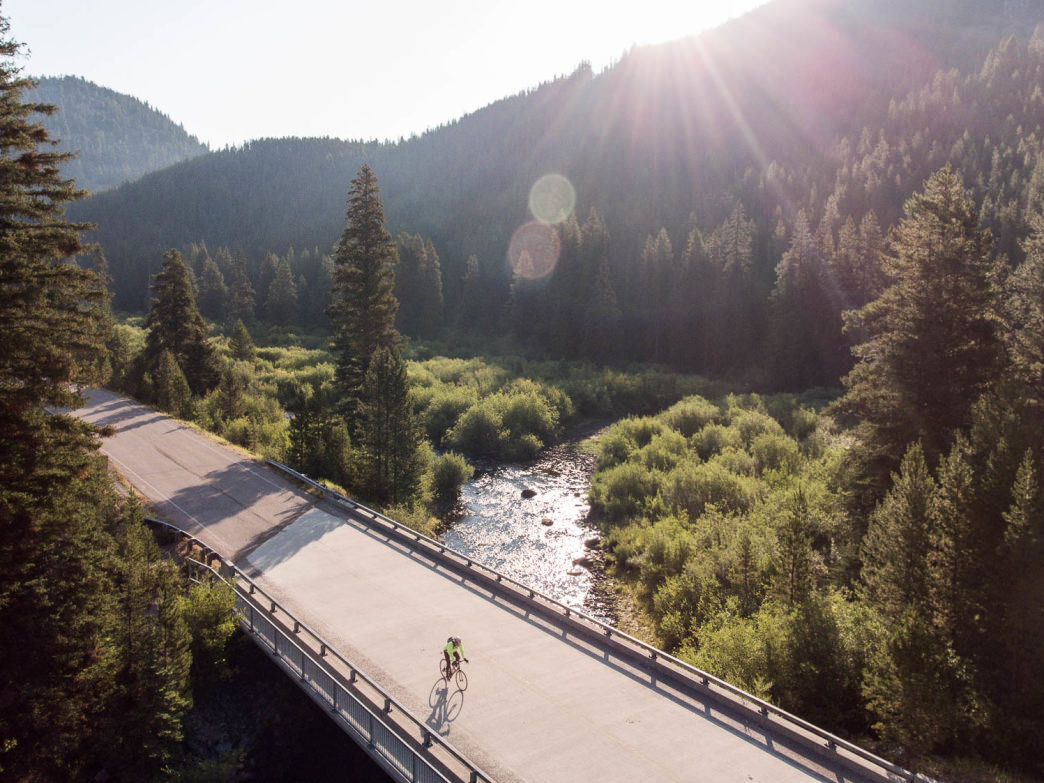 Experience the scenic landscape of the Greater Yellowstone Ecosystem all from the seat of a bike.