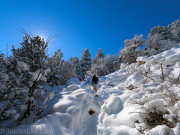 Image for Green Mountain Boulder - Snowshoeing