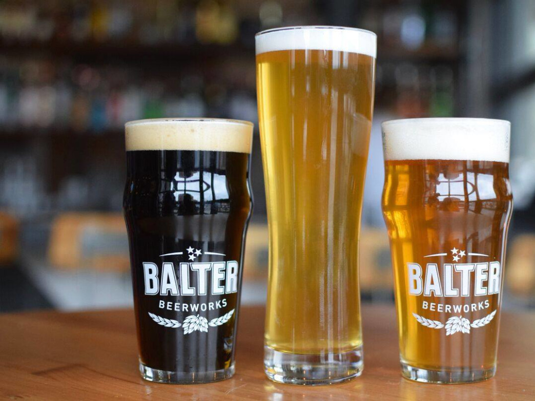 Balter Beerworks transformed an abandoned gas station into a popular destination for drinks and dining.