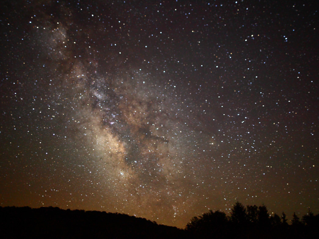 West Virginia Milky Way.