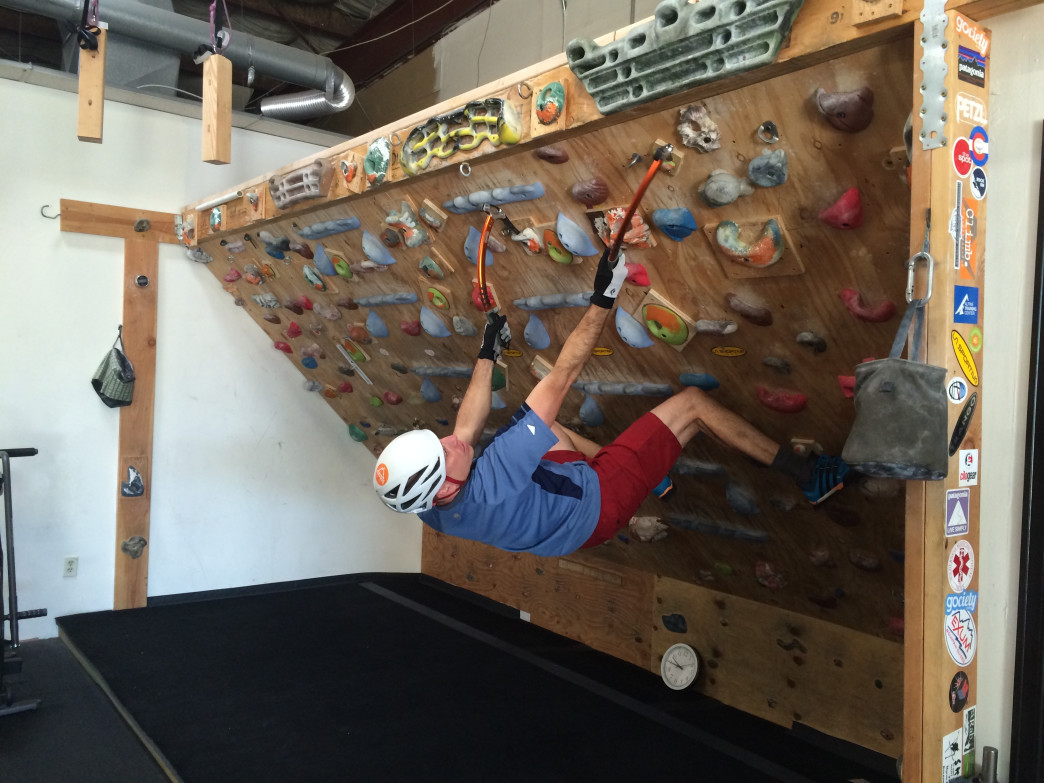 Rob Coppolillo, an AMGA- and IFMGA-certified mountain guide, says Alpine Training Center workouts help him stay strong for his work for Vetta Mountain Guides