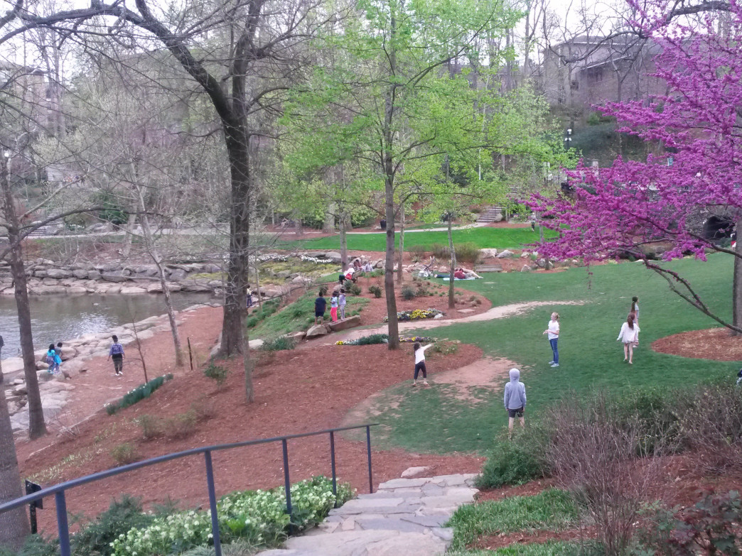 Open spaces are an important tenet of Greenville's design.