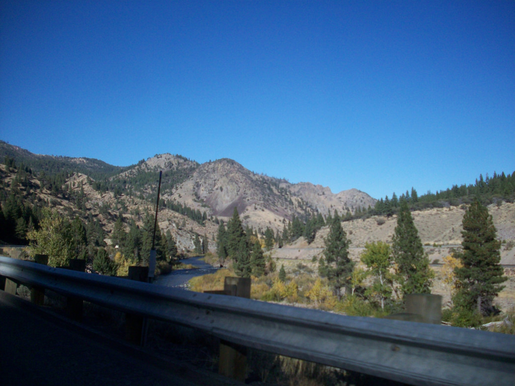 The Truckee River along the I-80 corridor is the site of great climbing areas like River Rock.