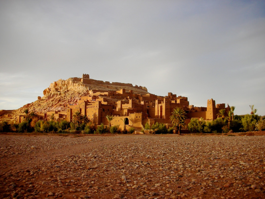 Aït Benhaddou is an impressive collection of earthen dwellings that have survived for centuries.
